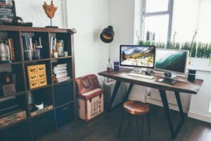 home office, self-employed